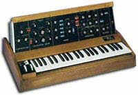 An Early Moog Synthesizer